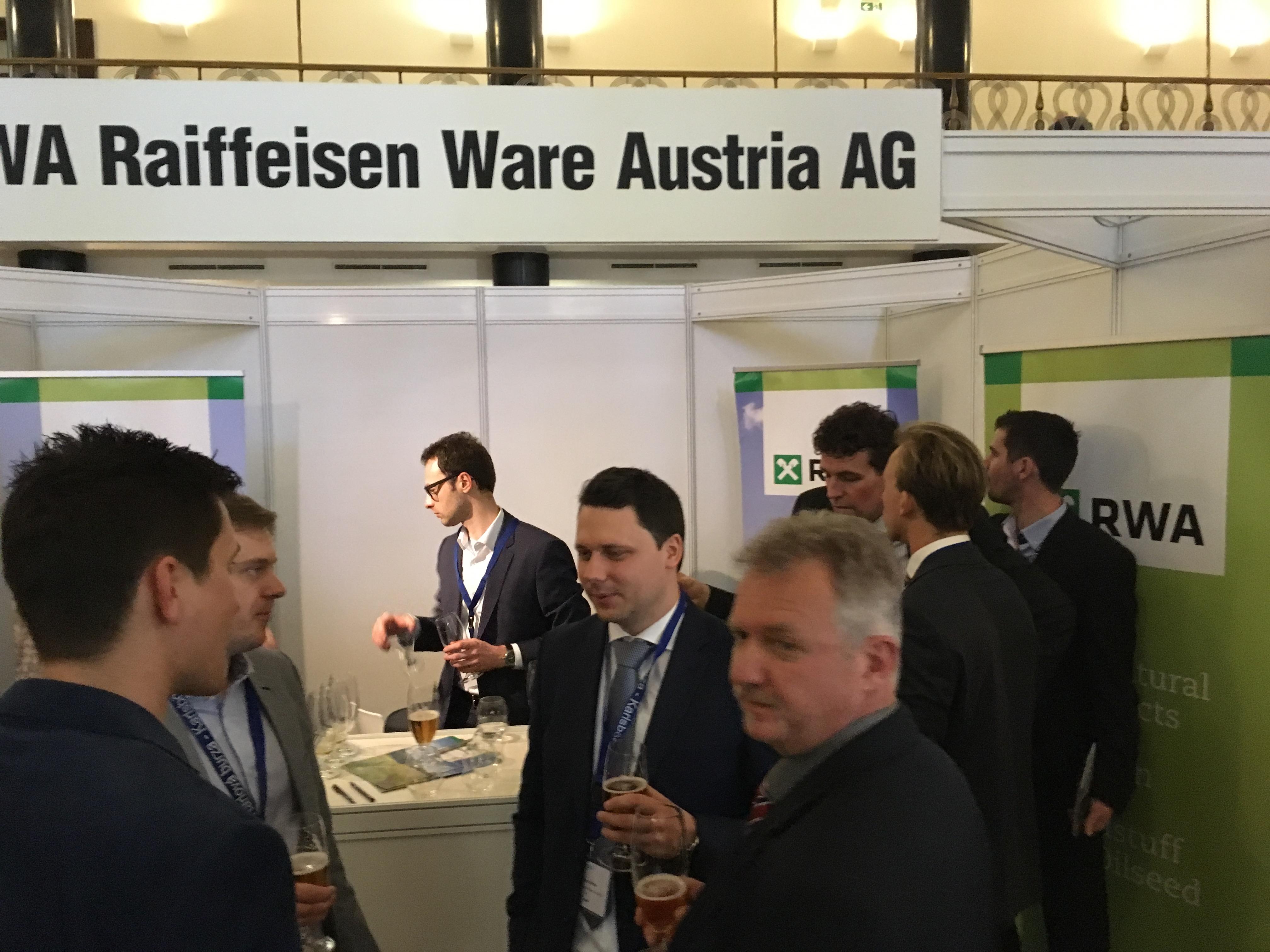 RWA RAiffeisen Ware Austria AG, 3. Prager Karlsbörse @Slovanský-dům
